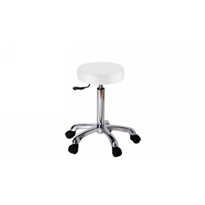 TABOURET ROND wit