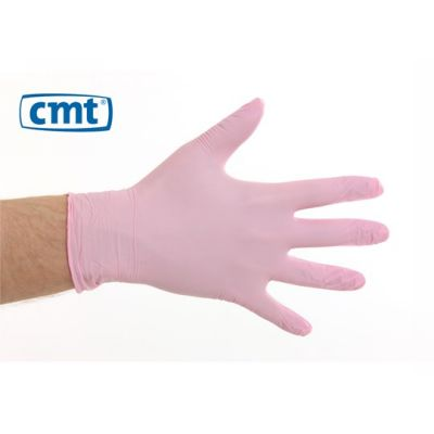 Medical Glove Soft nitril Pink Poedervrij CMT