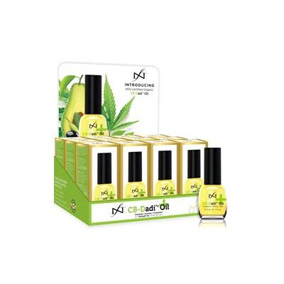 CB Dadi' Oil 15ml Display