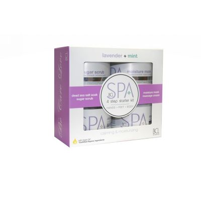 BCL SPA Lavendel en Mint kit 3oz