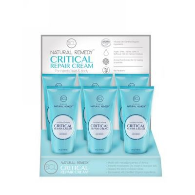 BCL SPA Critical Repair creme display