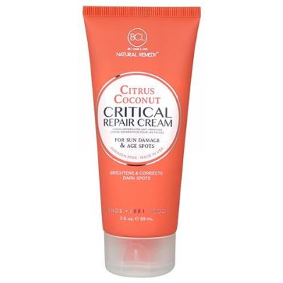 BCL SPA Critical Repair Crème Citrus Coconut