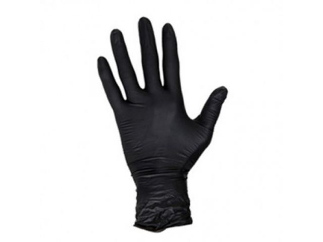 Medical glove Soft Nitril XS Black Powderfree